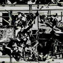 "Wo Baselitzes Hokusai haust"" 2018"